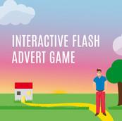interactive flash advert game