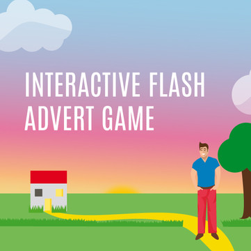 interactive flash advert game