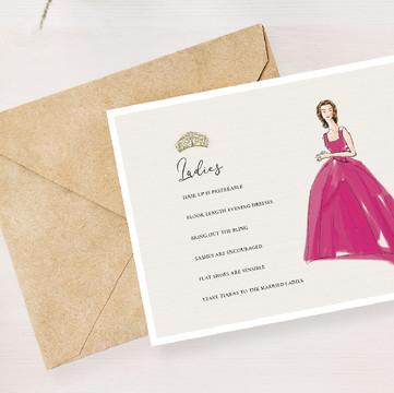 royal caledonian ball invitation