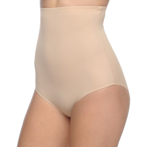 Shaping Hi-Waist Full Brief Shaper Nude