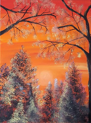 """Sun Down Up North II"""