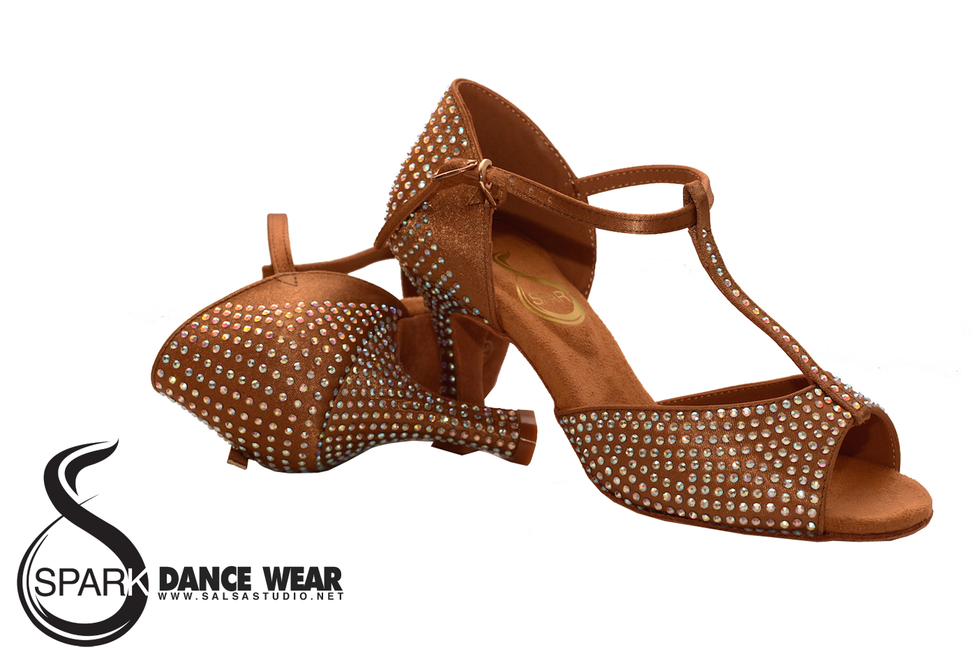 Spark Latin Salsa Dance Shoes