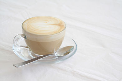 Hunters quality latte coffee