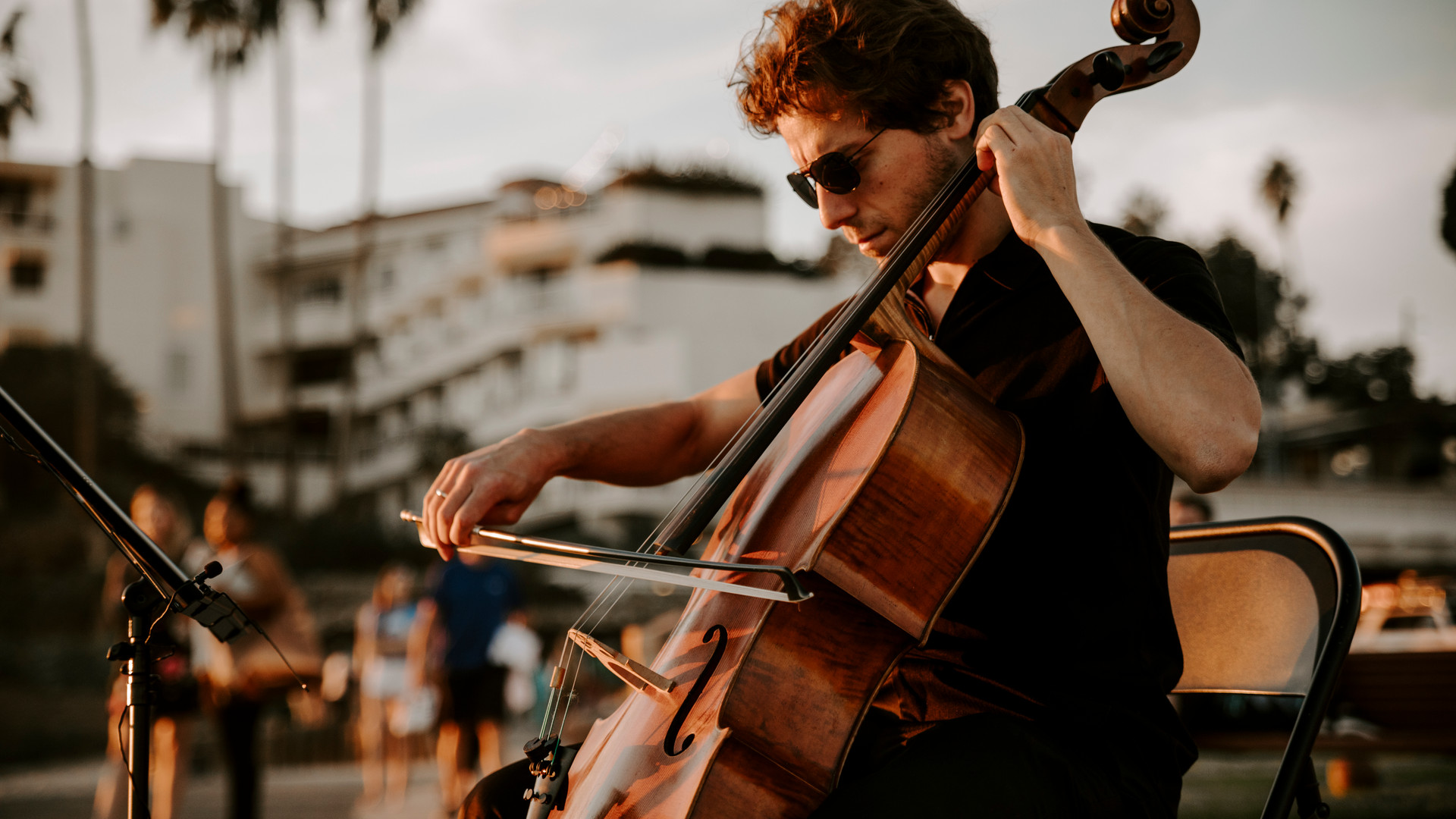 Ross Gasworth, Cellist