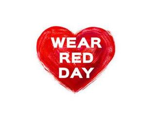 Wear Red Day.