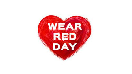 Wear Red Day.