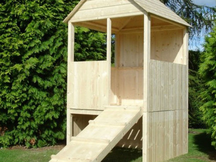 Our new playhouse.