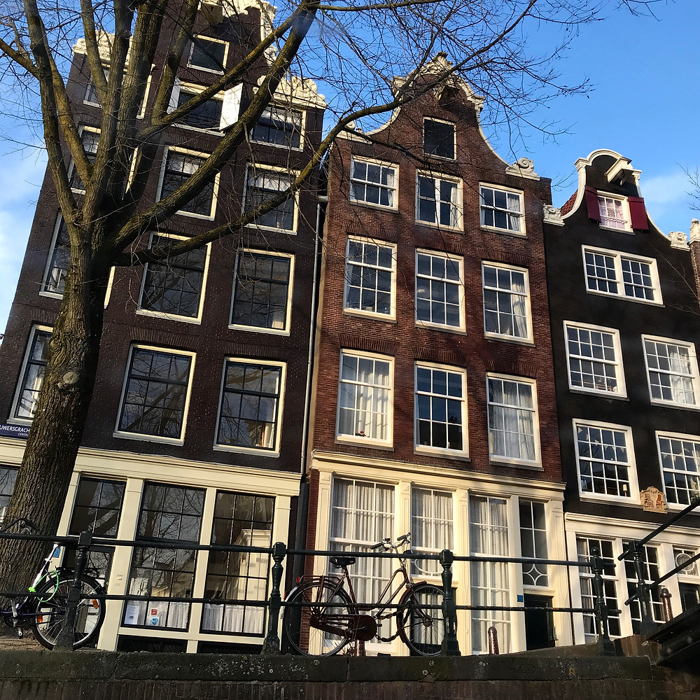 Amsterdam apartment buildings