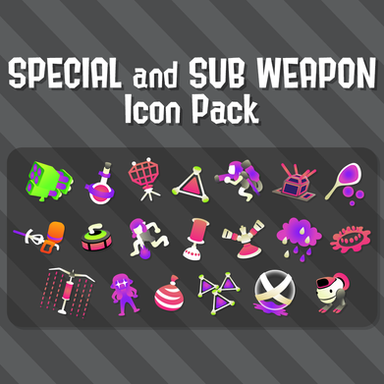 Special and Sub Weapons - Splatoon 2 Icon Pack