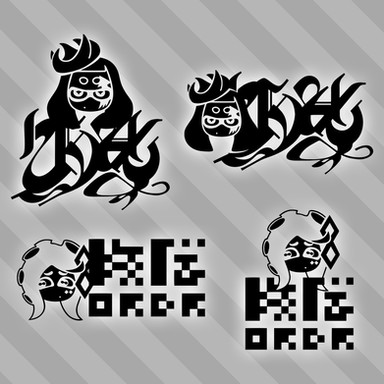 Chaos & Order Logos - Splatoon 2