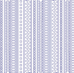 Digital vector print.
