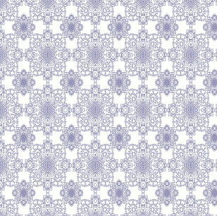 Blue parrot-pattern repeat.