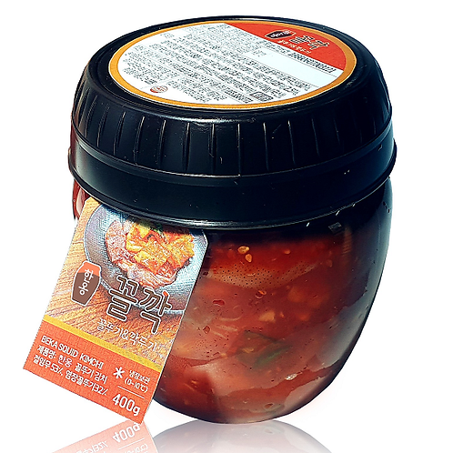 Kkol Kkak baby octopus and radish kimchi