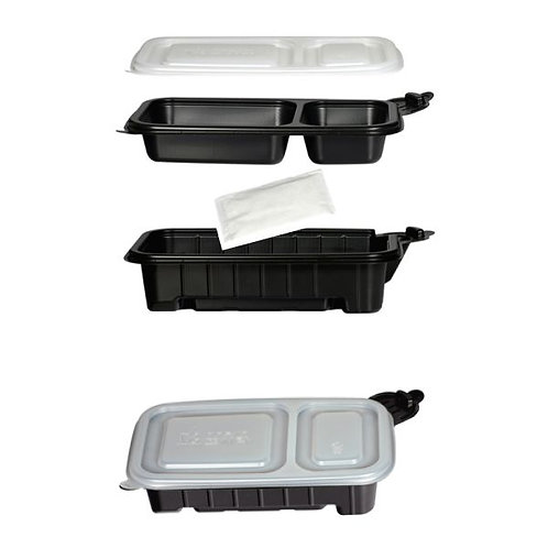 Food heating container