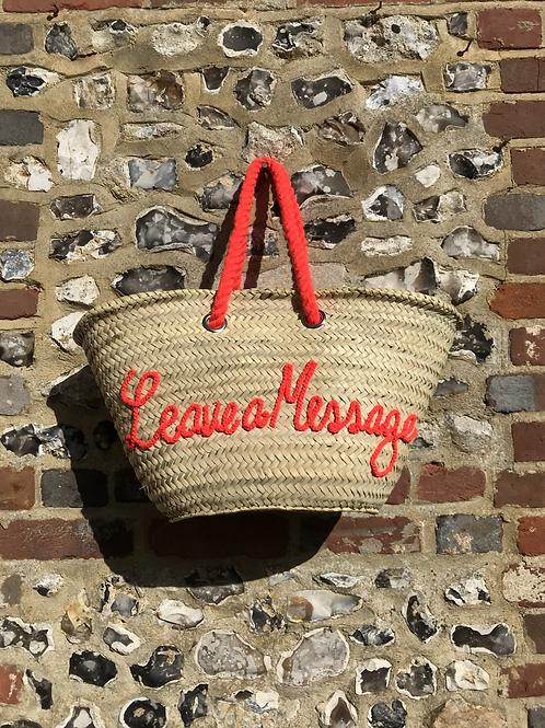 Leave a Message Basket