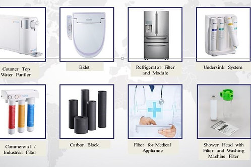 Water purification products and Masks