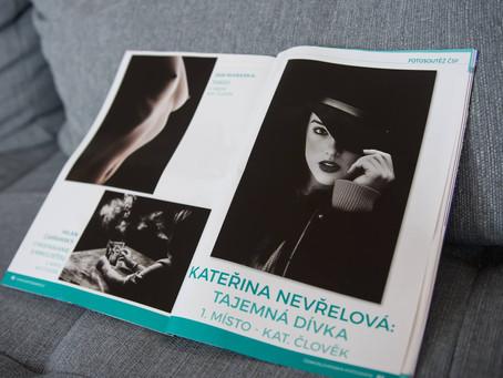 1. místo v kategorii Člověk v časopisu Československá fotografie