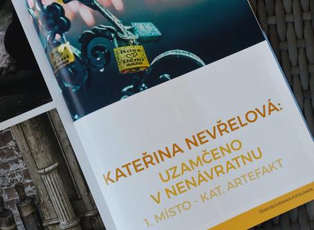 1. místo v časopisu Československá fotografie