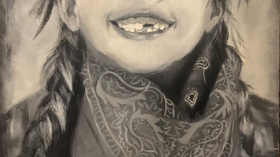 """""""The Tooth"""" 20x16"""""""