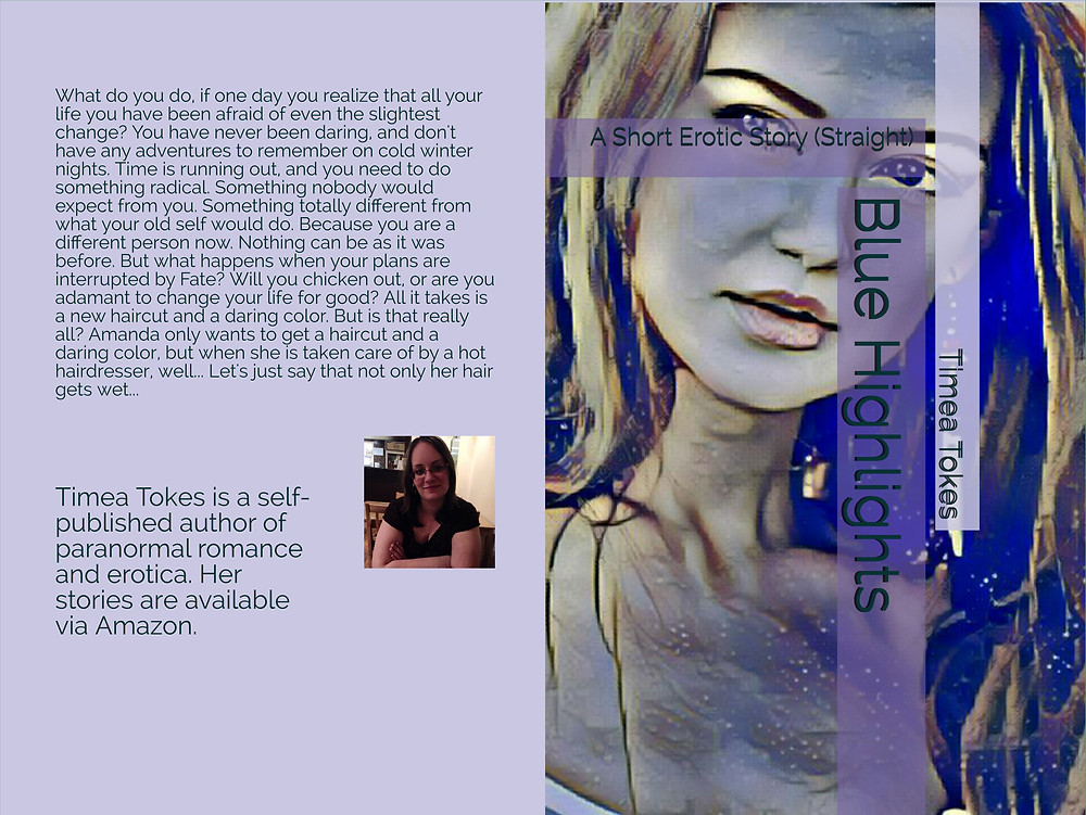 Blue Highlights by Timea Tokes - A Short Erotic Story