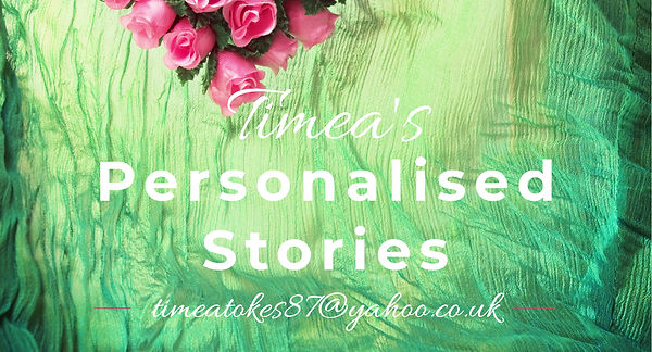 Timea's Personalised Stories, ready to order
