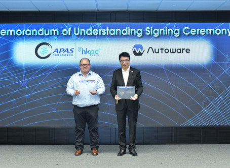 Autoware Foundation and Hong Kong Productivity Council agreed to strengthen partnership