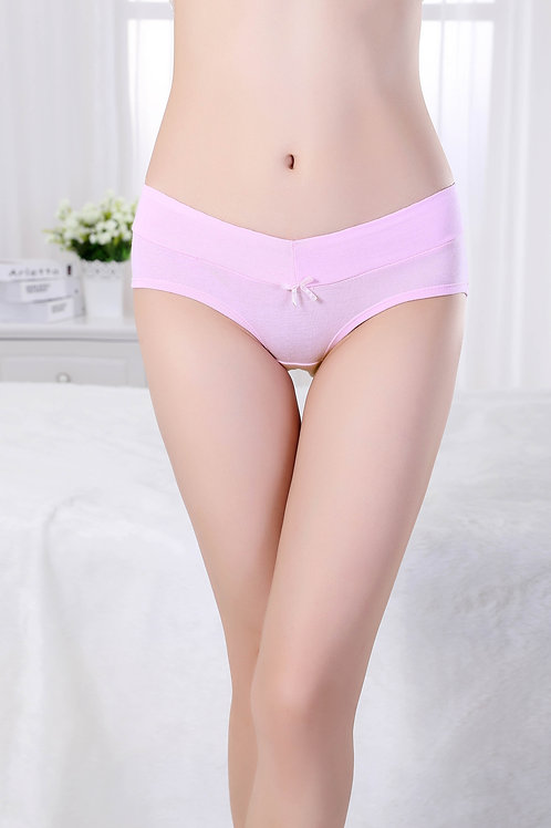Light Pink Cotton Hipster Panty