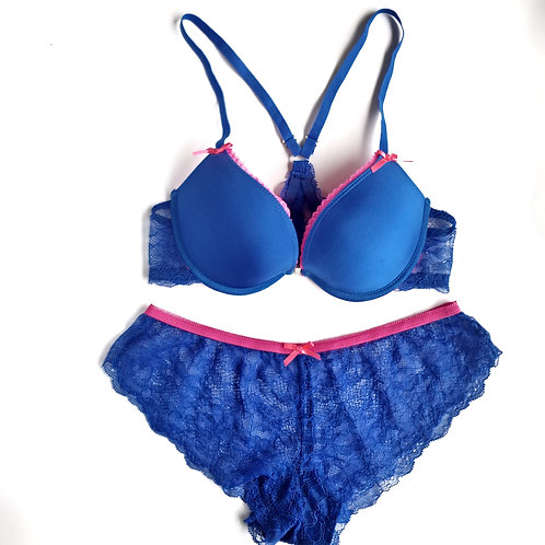 Blue Fun & Flirty Lingerie Set