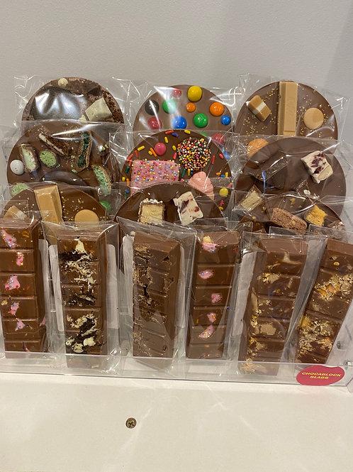 6 Piece Chocolate Bars