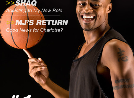 """Trevor chosen """"Most Promising Young Basketball Player"""" by """"Athlete Magazine"""""""