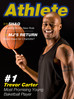 "Trevor chosen ""Most Promising Young Basketball Player"" by ""Athlete Magazine"""