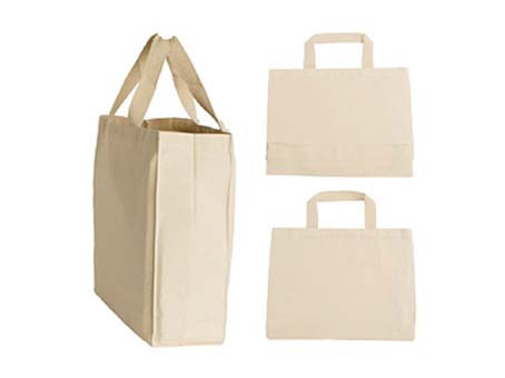 D cut - Boxed shaped Gusset bag