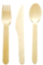 wooden cutlery - Earthworks cutlery kit for hotel, events, festivals