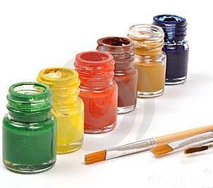 Paint kit - set of 6