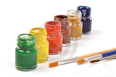 Paint kit - set of 6