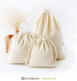 Drawstring Cloth Pouch