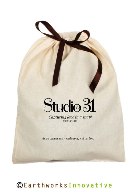 STUDIO 31 - custom printed cotton pouch