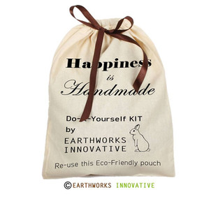 DIY (Do-It-Yourself) - paint your bags KIT by Earthworks
