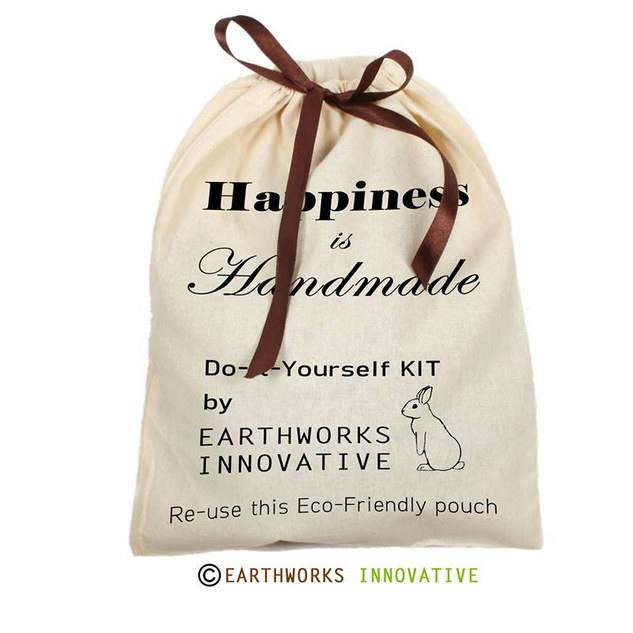 Custom printed Earthworks Pouch