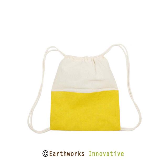 Earthworks Jute & Canvas Backpack