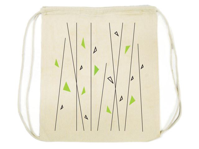 100% Cotton Drawstring Backpack
