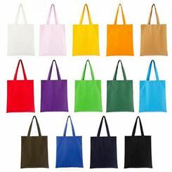multi-colour shopping bags