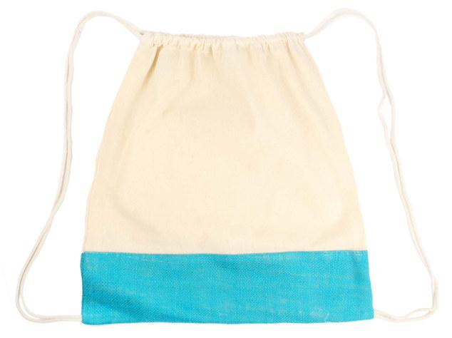 Blue jute backpack .JPG