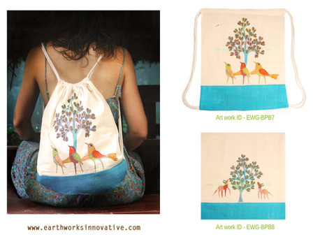 earthworks innovative handpainted bagsEW