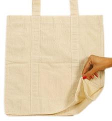 Gusset D cut bag