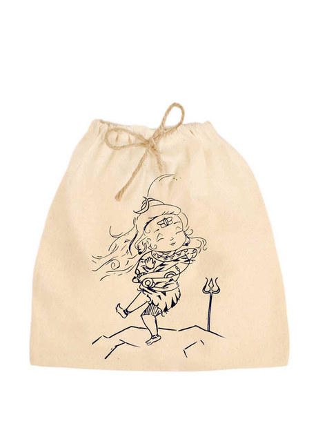 Earthworks PARTY GIFT POUCH - SHIVA PRINT