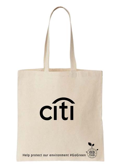 CITI bank - Custom printed TOTE bag