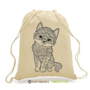 DIY-ADULT-KITTY BACKPACK