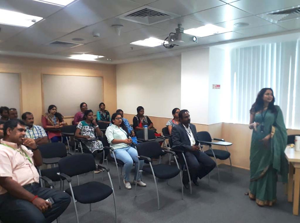 Ms.Surya Dinkar - Founder of Earthworks Innovative at WIPRO Coimbatore