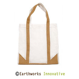 Earthworks Jute shopping bag